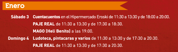 actividades enero 2015